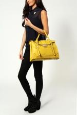 Yellow satchel like Lemons at Boohoo
