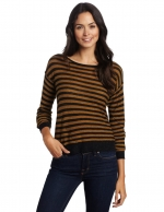 Yellow striped sweater like Carries at Amazon
