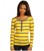 Yellow striped tee by Splendid at Zappos