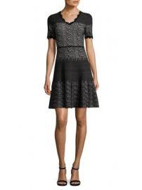Yigal Azrou l - Snakeskin-Print Wool Dress at Saks Fifth Avenue