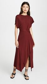 Yigal Azrouel Asymmetric Shirred Dress at Shopbop