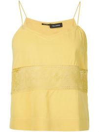 Yigal Azrouel Embroidered Panel Camisole  - Tootsies at Farfetch