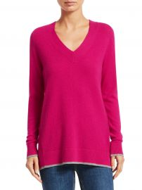 Yorke Cashmere V-Neck Sweater at Saks Off 5th