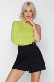 You Gotta Be in It One Shoulder Sweater at Nasty Gal