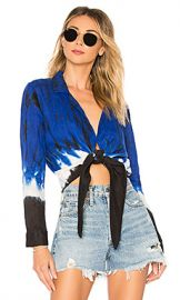 Young  Fabulous  amp  Broke Maxson Top in Ocean Sandstorm Wash from Revolve com at Revolve