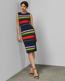 Ysina Striped Dress at Ted Baker
