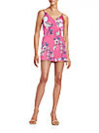 Yumi Kim - Lea Floral-Print Short Jumpsuit at Saks Off 5th