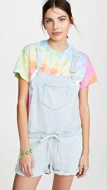 Z Supply Knit Denim Shortalls at Shopbop