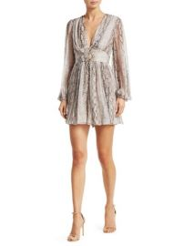 ZIMMERMANN - CORSAGE PYTHON PLAYSUIT at Saks Fifth Avenue