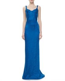 Zac Posen Embroidered Sweetheart Gown at Last Call