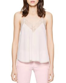 Zadig  amp  Voltaire Christy Silk Camisole Top at Bloomingdales