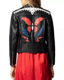 Zadig  amp  Voltaire Lenni Butterfly Leather Jacket Women - Bloomingdale s at Bloomingdales