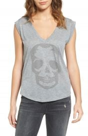 Zadig  amp  Voltaire Skull Tee   Nordstrom at Nordstrom