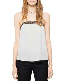Zadig and Voltaire Carmen Silk Camisole Top at Bloomingdales
