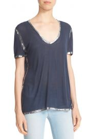 Zadig & Voltaire Tino Foil Tee at Nordstrom