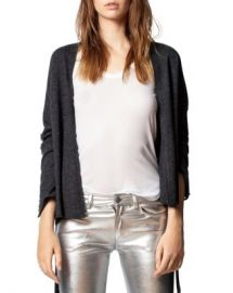 Zadig  amp  Voltaire Lemmy Merino Wool  amp  Cashmere Studded Cardigan Women - Bloomingdale s at Bloomingdales
