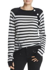 Zadig  amp  Voltaire Reglis Bis Striped Cashmere Sweater Women - Bloomingdale s at Bloomingdales