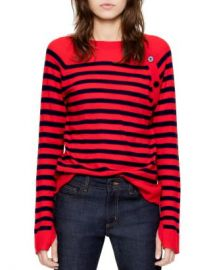 Zadig  amp  Voltaire Reglis Stripes Cashmere Sweater Women - Bloomingdale s at Bloomingdales