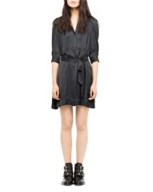 Zadig  amp  Voltaire Retouch Satin Dress Women - Bloomingdale s at Bloomingdales