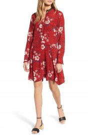 Zadig  amp  Voltaire Ruti Pensee Double Floral Silk Dress at Nordstrom