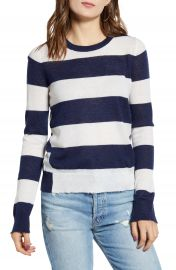 Zadig  amp  Voltaire Source Stripe Cashmere Sweater   Nordstrom at Nordstrom