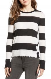 Zadig  amp  Voltaire Source Stripe Cashmere Sweater at Nordstrom