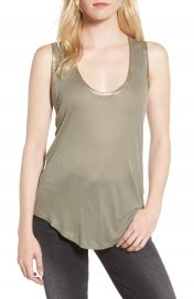 Zadig  amp  Voltaire Tam Scoop Neck Tank at Nordstrom