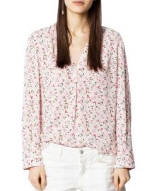 Zadig  amp  Voltaire Tink Floral Tunic Women - Bloomingdale s at Bloomingdales