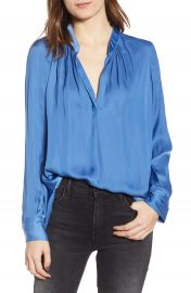 Zadig  amp  Voltaire Tink Satin Blouse   Nordstrom at Nordstrom