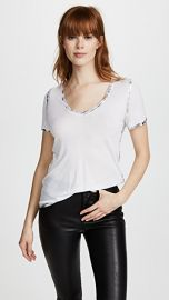 Zadig  amp  Voltaire Tino Foil Tee at Shopbop
