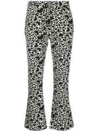 Zadig Voltaire Heart Print Cropped Trousers - Farfetch at Farfetch