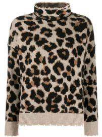 Zadig Voltaire Leopard Knit Jumper - Farfetch at Farfetch
