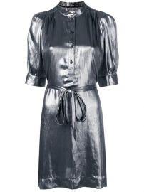 Zadig Voltaire Metallic Shirt Dress - Farfetch at Farfetch