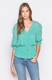 Zaida Silk Top by Joie at Joie