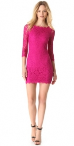 Zarita dress by DVF worn by Lea Michele at Shopbop