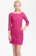 Zarita dress in pink by DvF at Nordstrom at Nordstrom