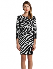 Zebra Dress by Cynthia Vincent at Lord & Taylor