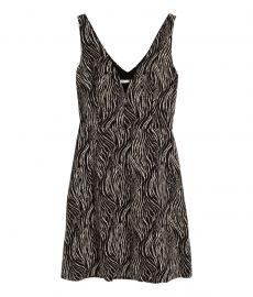 Zebra Pattern Dress at H&M