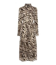 Zebra Print Shirt Dress at Karen Millen