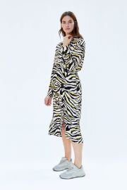Zebra Printed Dress by Zara at Zara