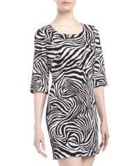 Zebra dress by Single at Last Call