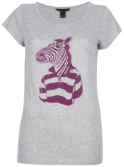 Zebra tee by Marc by Marc Jacobs at Farfetch