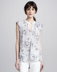 Zen tunic by Rebecca Taylor at Neiman Marcus