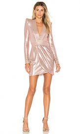 Zhivago Eye Of Horus Metallic Mini Dress in Blush from Revolve com at Revolve