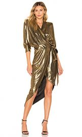 Zhivago Picture This Dress in Gold from Revolve com at Revolve
