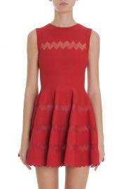 Zig Zag Skirt Dress by Alaia at Net a Porter