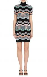 Zigzag-Knit Wool-Blend Dress by Missoni at Barneys