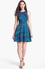 Zigzag print dress by French Connection at Nordstrom