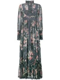 Zimmermann Floral Print Maxi Dress at Farfetch