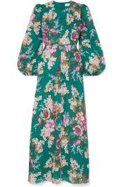 Zimmermann - Allia floral-print linen maxi dress at Net A Porter